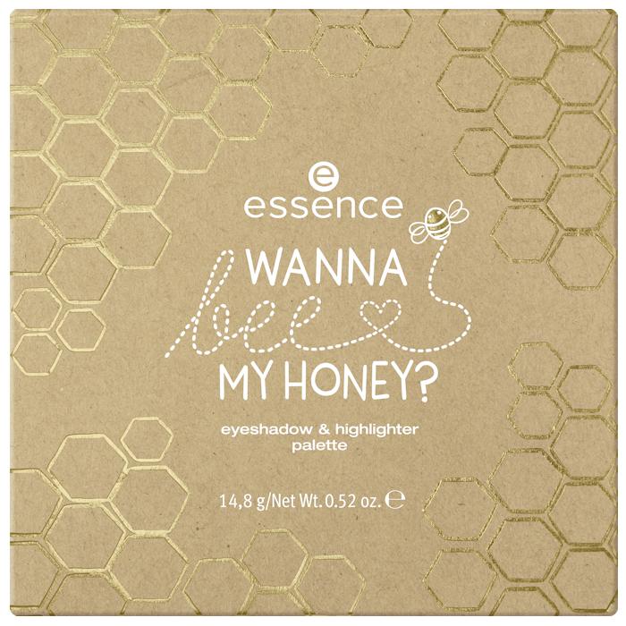 Wanna Bee My Honey? Eyeshadow & Highlighter Palette