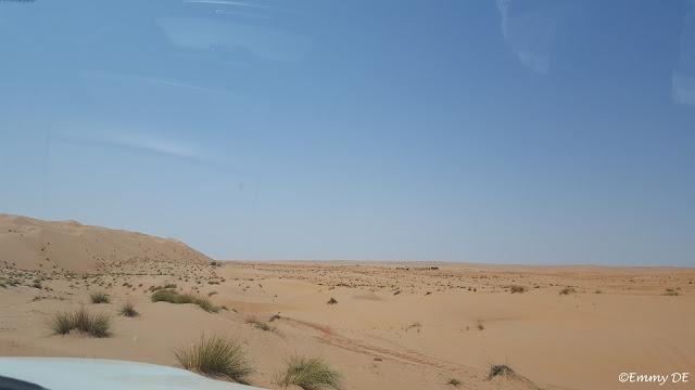 The desert in Oman by ©Emmy DE