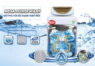 Máy giặt Toshiba Inverter 14kg AW-DC1500WV