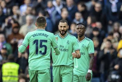 Video Cuplikan Gol: Real Madrid 2-0 Espanyol (LaLiga)