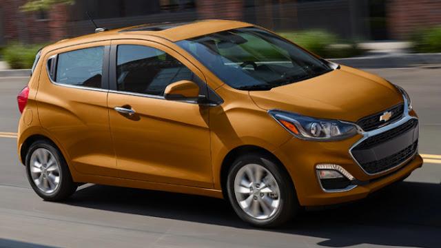 Chevrolet Spark 2020 expérience de conduite