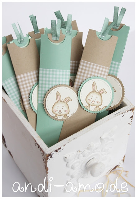 Schoko-Lollys Ostern Verpackung