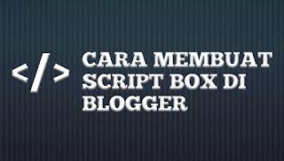 Script Box Blogger