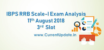 IBPS RRB PO Prelims Exam Analysis 11th August 2018 3rd Slot Review