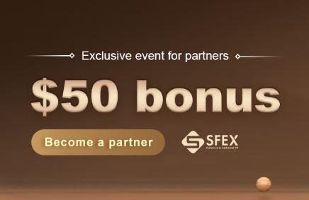 Bonus Forex Tanpa Deposit SFEX $50