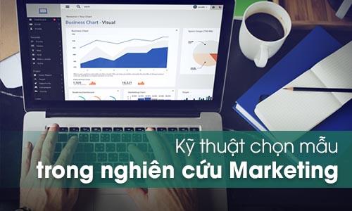 Chọn mẫu trong nghiên cứu Marketing