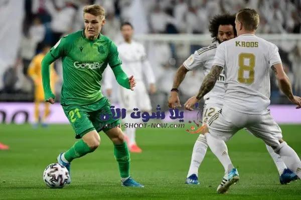 موعد مباراة ريال مدريد وريال سوسيداد في الدوري الاسباني