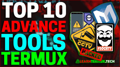 Top 10 Advance Termux Tools 🔥That You Must Know💯