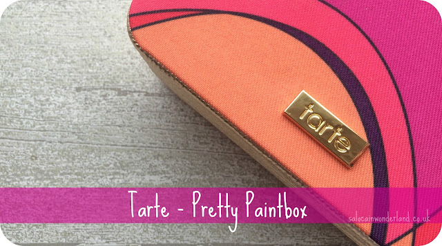 tarte pretty paintbox review