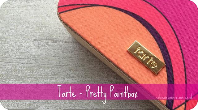 tarte pretty paintbox review