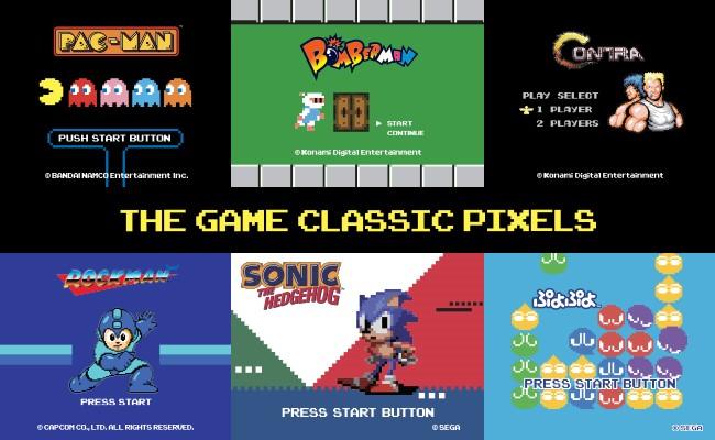 Uniqlo Game Classic Pixel T Shirts Gives You Retro Goosebumps