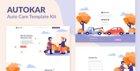 Best Auto Care Elementor Template Kit