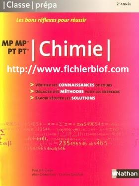 Chimie - MP - PT - Classe Prépa Nathan