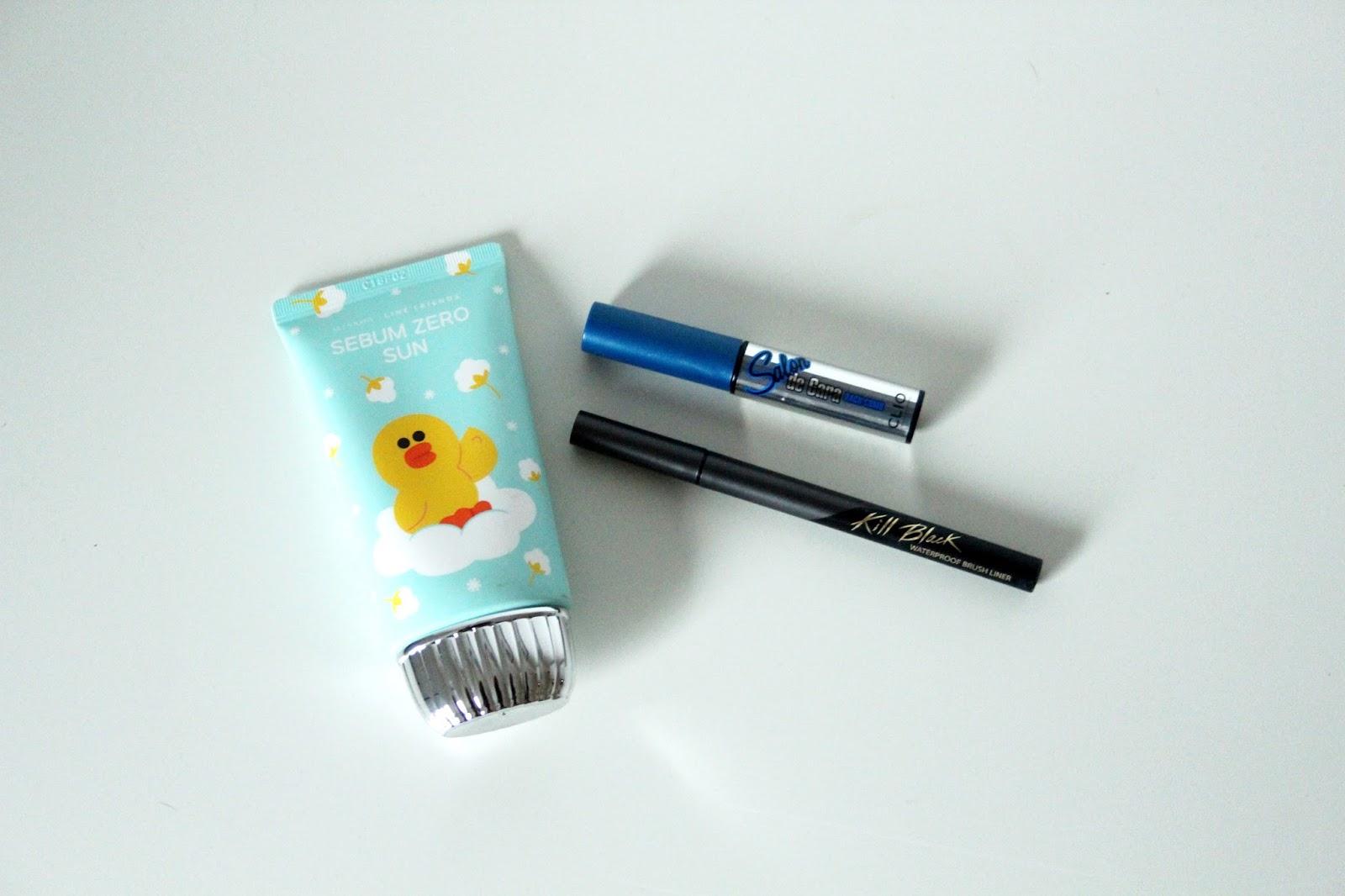 Korea Haul Missha Sonnencreme CLIO Kill Black Eyeliner || www.lootieloosplasticworld.de