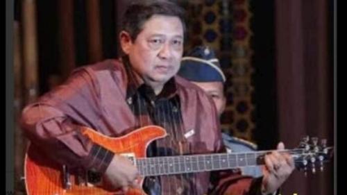 Heboh Gitaris Diangkat Komisaris, Netizen Sindir SBY: Nih Jadi Presiden