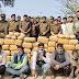 पुलिस ने मुठभेड़ में 8 मादक पदार्थ तस्कर गिरफ्तार, ढाई करोड़ का गाजा बरामद