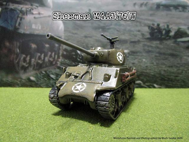 Italeri 1/72 Sherman M4A3(76)W