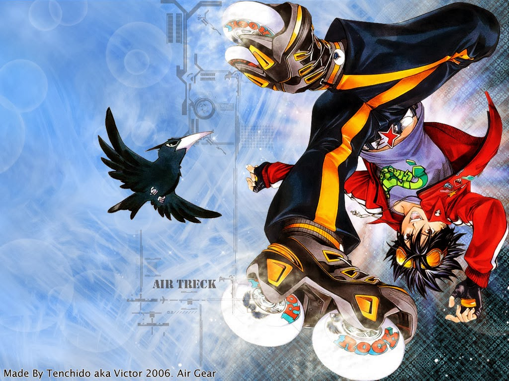 Download Air Gear Subtitle Indonesia (Complete)