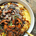 Vegan Creamy Polenta and Red Wine Mushrooms