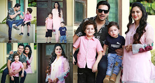 Fatima Effendi and Kanwar Arsalan Beautiful Pictures with Kids