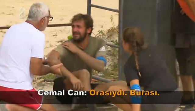 Survivor 31 Mayıs Cemal Can'ın Kolu Mu Kırıldı?