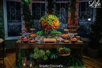 casamento no salão dos arcos e bar ingles da associação leopoldina juvenil em porto alegre decoração rustico chique chic boho por life eventos especiais mesa de doces boho chic