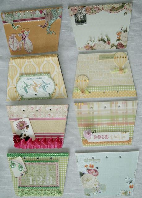 Webber's Pages mini purse album
