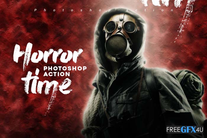 Horror Time Photoshop Action