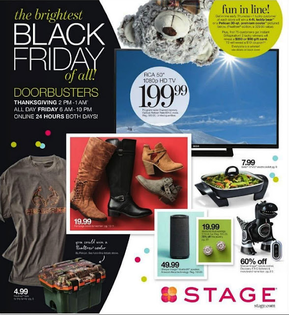 Stage Black Friday 2017 Ad