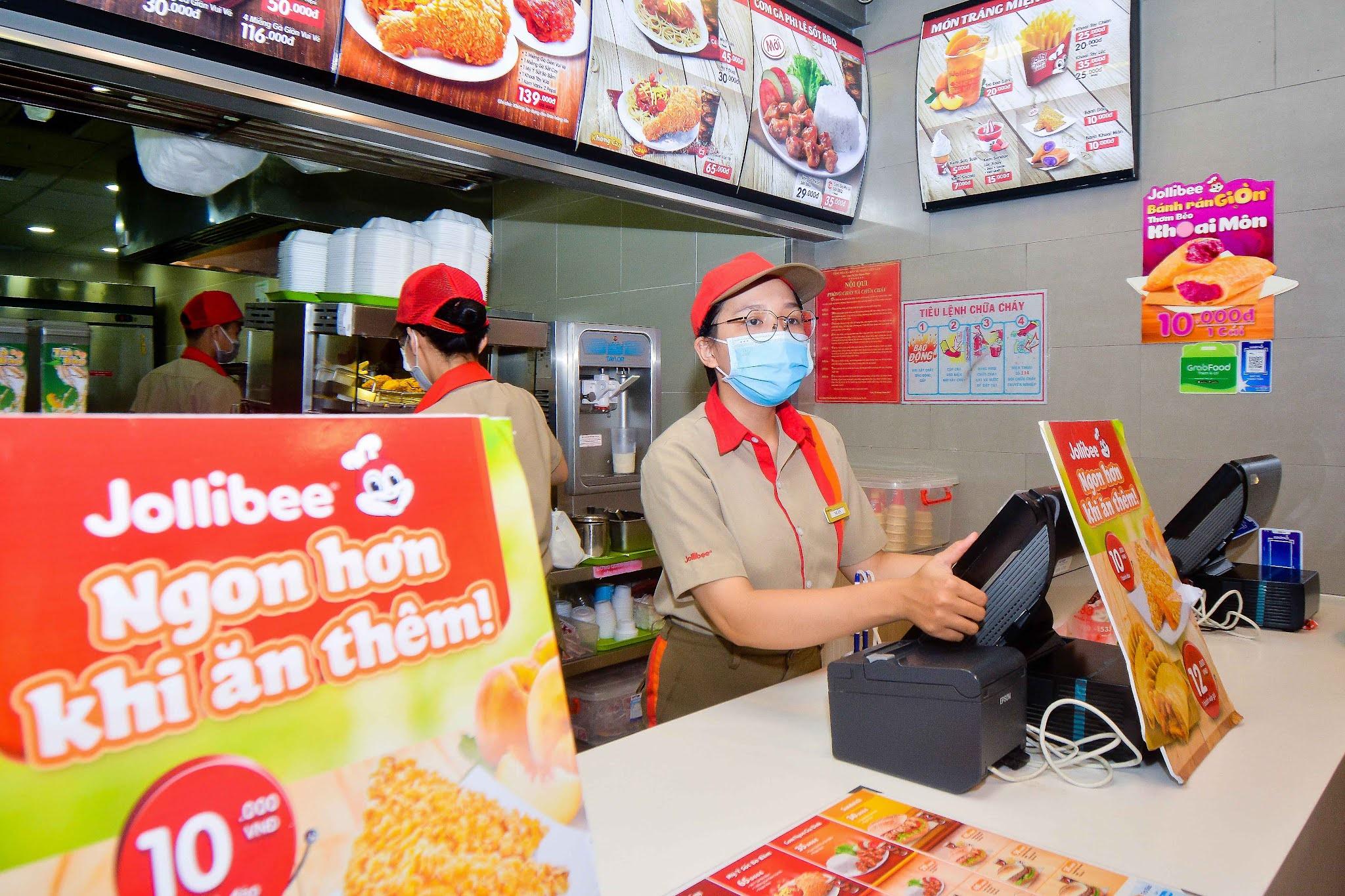 Jollibee Đà Nẵng - Hệ thống cơ sở kinh doanh dịch vụ thiết yếu tại Đà Nẵng