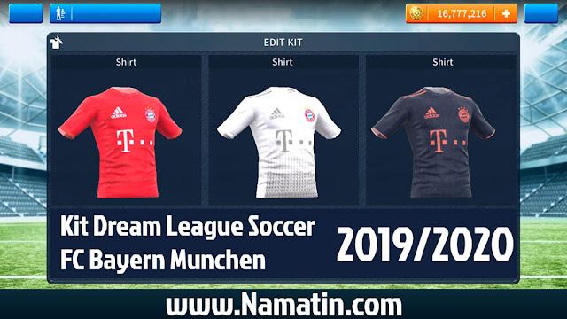Kit Dream League Soccer Bayern Munchen