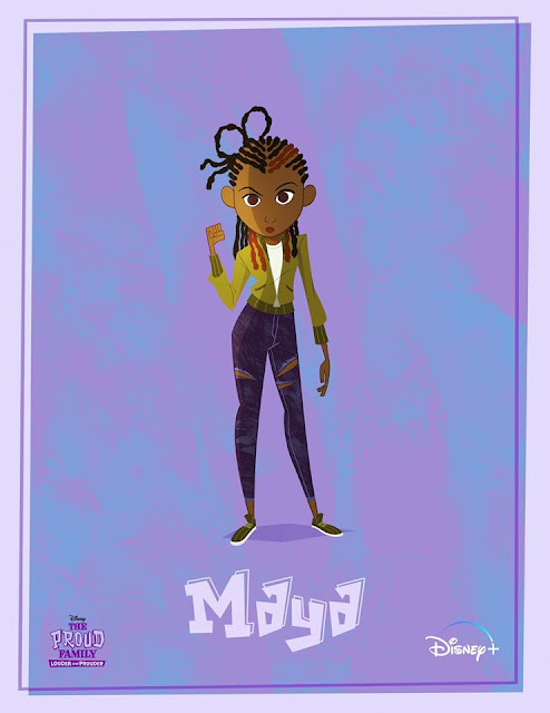 Disney+ Meet Maya Leibowitz-Jenkins The new character from The Proud Family Louder and Prouder