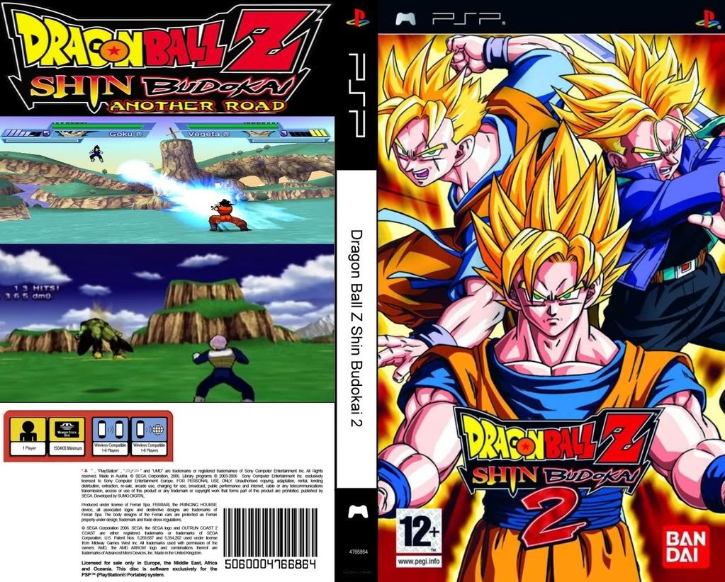 Dragon Ball Z Shin Budokai 2 Ppsspp Android Download