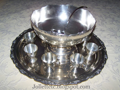 Helen Killeen Parker silver punch bowl set https://jollettetc.blogspot.com