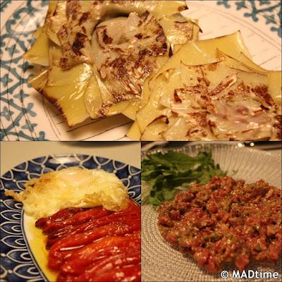 Los platos de Verdura y Brasa