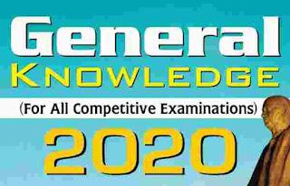 Latest General Knowledge 2020 PDF Book