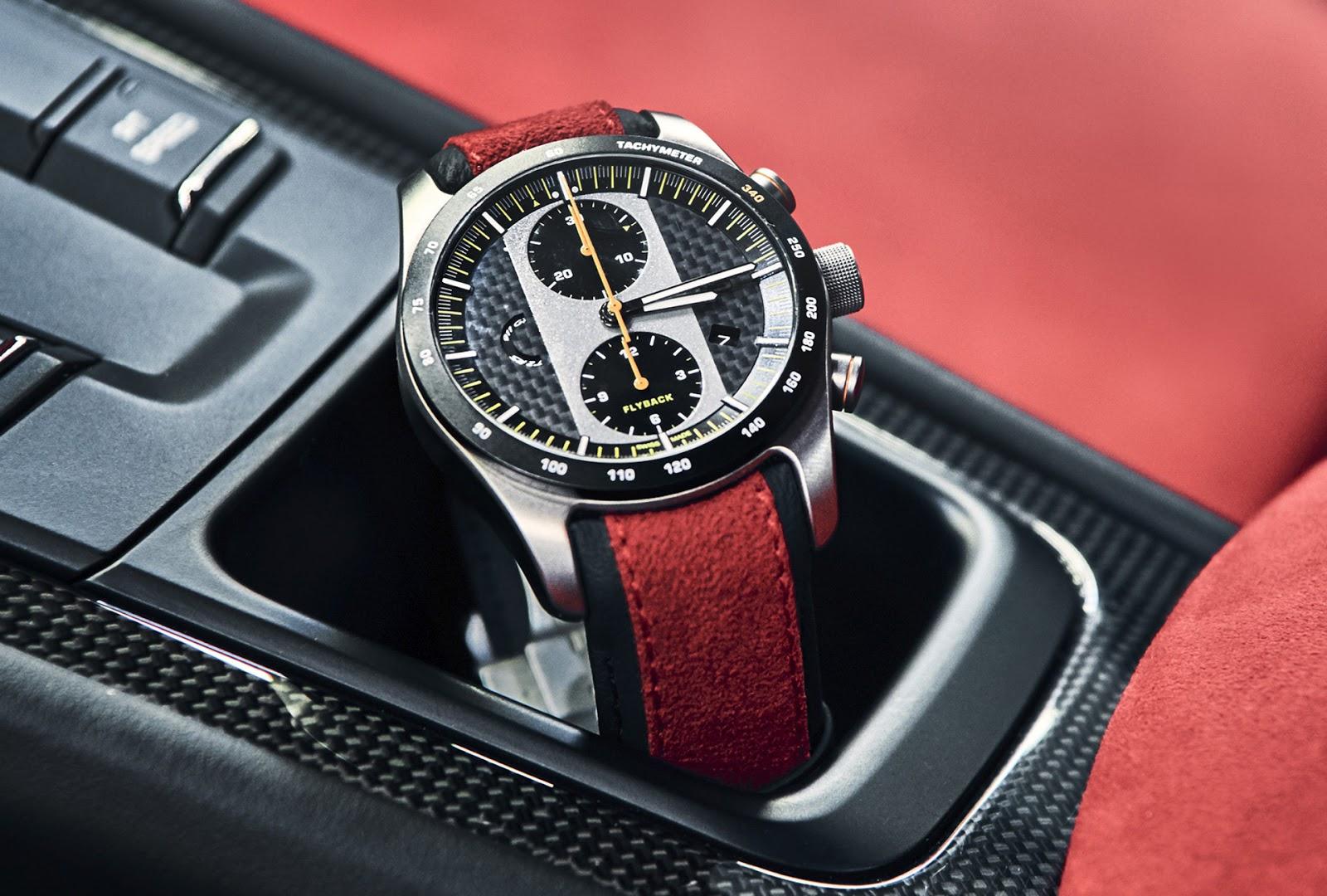 3332ec0d02a1 Cronógrafo Porsche Design 911 GT2 RS