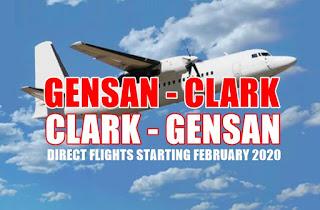 Gensan-Clark- Gensan flight