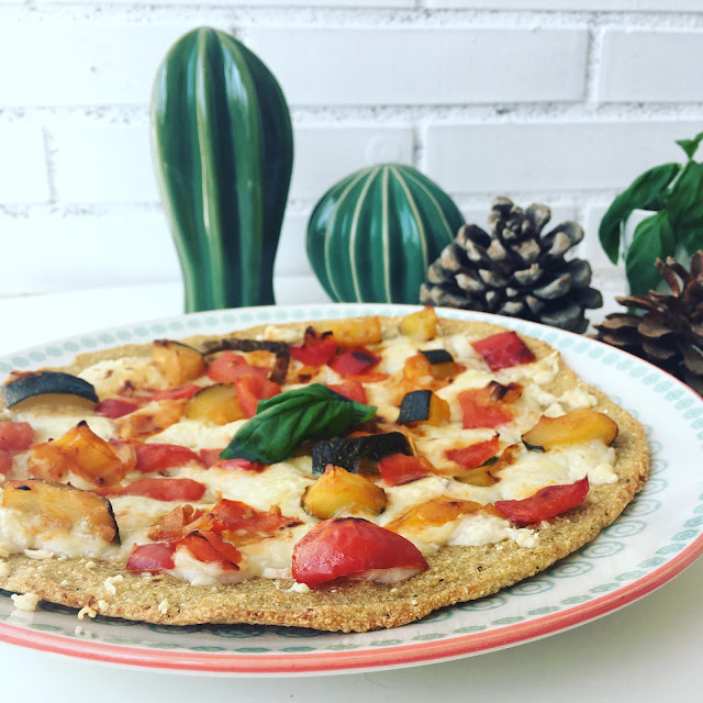 Pizza de quinoa
