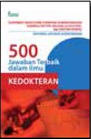 500 Jawaban Terbaik dalam Ilmu Kedokteran