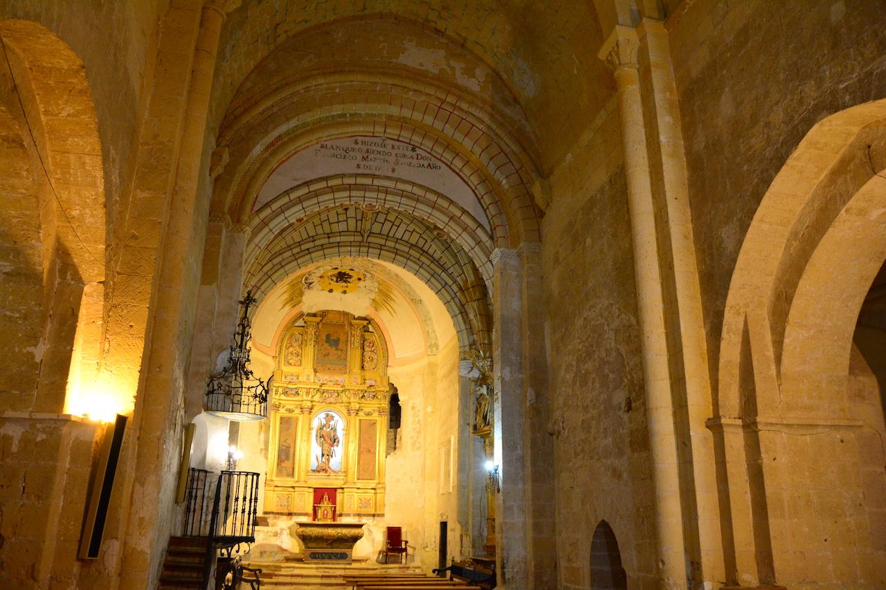 nef église San Miguel Turegano