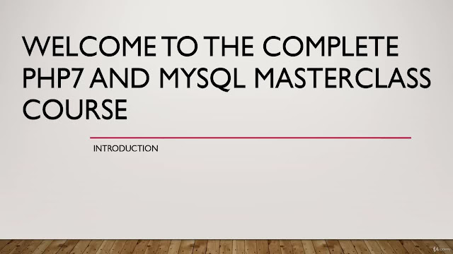 Complete PHP7 and MYSQL MasterClass Course (10 Projects)