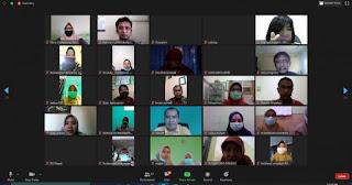 Dinkes-GAIN Gelar Pelatihan dan Workshop Pembuatan Kebijakan 10 LMKM  Secara  Online