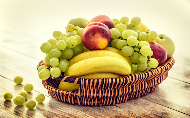 fruits bucket
