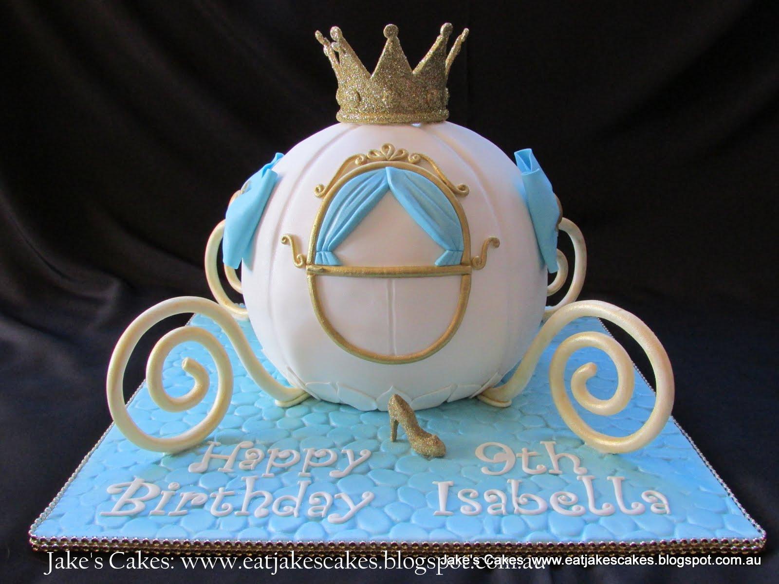 Jake S Cakes Cinderella Carriage Cake