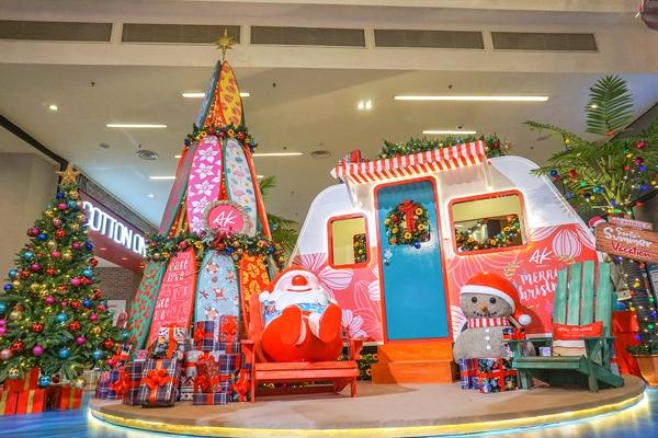 Santa's Summer Vacation, Avenue K Shopping Mall, Avenue K, Malaysia Shopping Malls, KL Top Shopping Malls, Christmas Deco, Lifestyle
