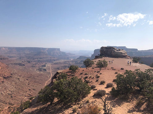 First view of Canyonlands National Park (Source: Palmia Observatory)