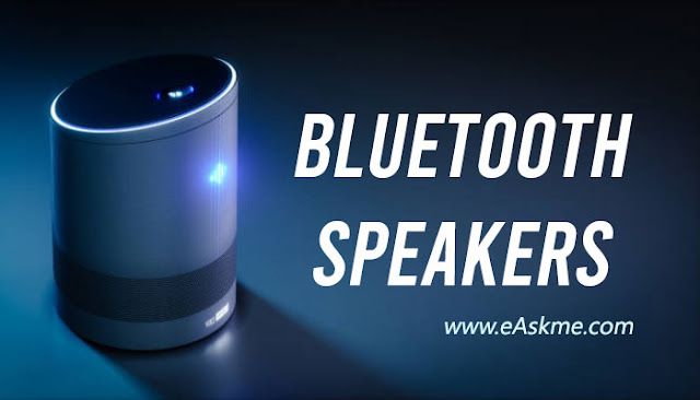 Bluetooth speaker: 5 Must-Have Music Gadgets For Music Lovers: eAskme