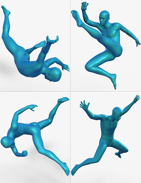 Gravity's Unlimited Action Poses for Genesis 3 Male