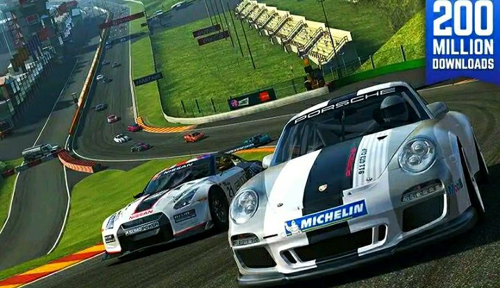 Real Racing 3 Mod Apk (Cars/Gold/Money) Unlocked All